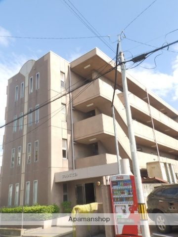 愛知県名古屋市千種区、池下駅徒歩15分の築25年 4階建の賃貸マンション