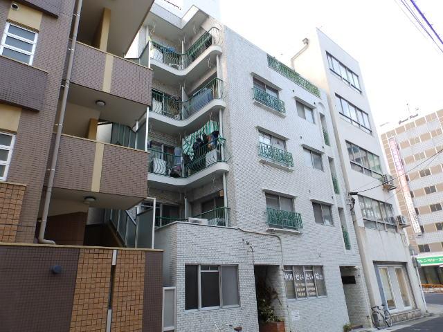 愛知県名古屋市千種区、今池駅徒歩5分の築40年 5階建の賃貸マンション