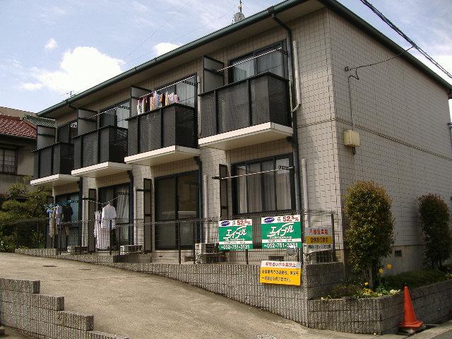 愛知県名古屋市千種区、東山公園駅徒歩5分の築21年 2階建の賃貸アパート