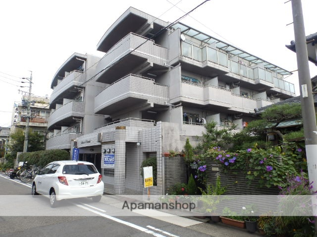 愛知県名古屋市千種区、今池駅徒歩20分の築28年 4階建の賃貸マンション