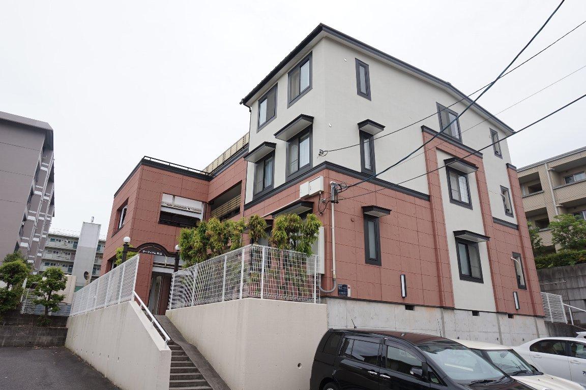 愛知県名古屋市千種区、本山駅徒歩9分の築20年 3階建の賃貸アパート