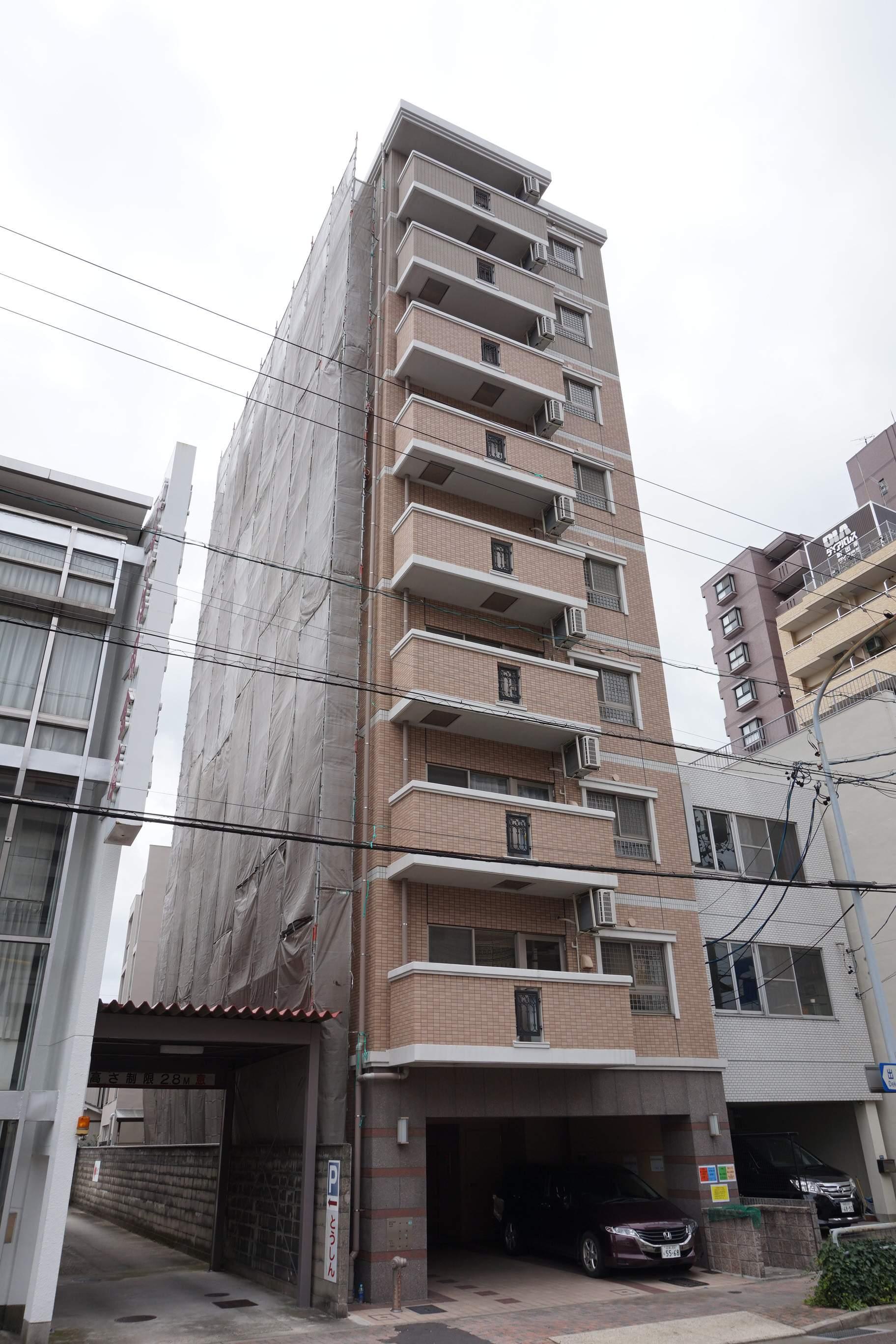 愛知県名古屋市東区、森下駅徒歩15分の築10年 10階建の賃貸マンション
