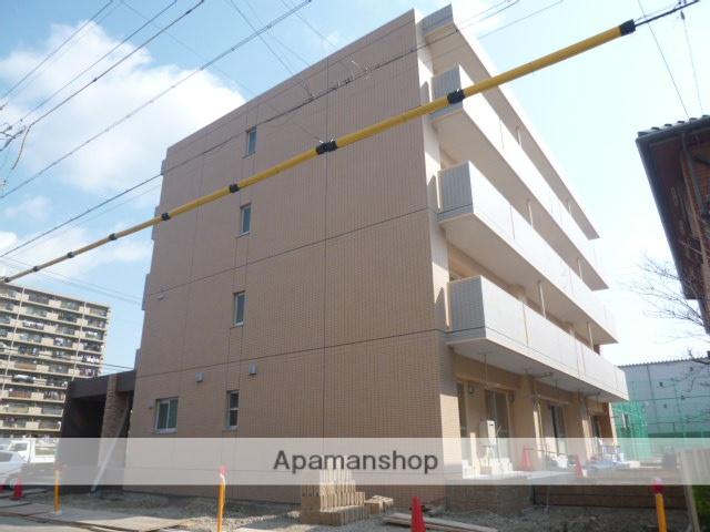 愛知県名古屋市中川区、中島駅徒歩27分の築3年 4階建の賃貸マンション