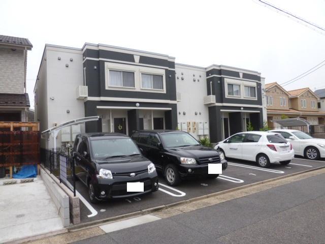 愛知県名古屋市中川区、南荒子駅徒歩19分の築3年 2階建の賃貸アパート