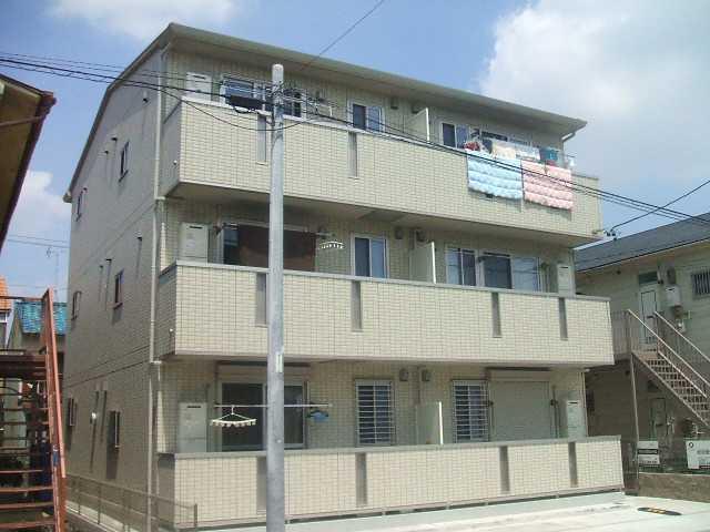 愛知県名古屋市中村区、中村公園駅徒歩15分の築6年 3階建の賃貸アパート