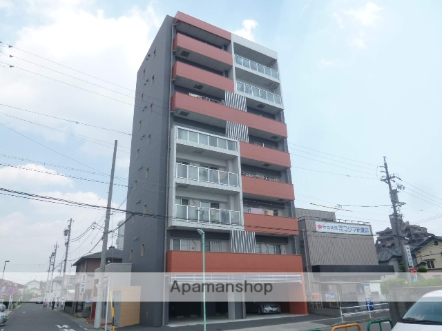 愛知県名古屋市中川区、春田駅徒歩1分の築8年 8階建の賃貸マンション