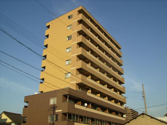 愛知県名古屋市中川区、金山駅徒歩16分の築10年 10階建の賃貸マンション
