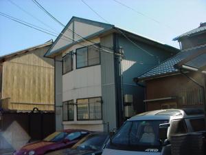 愛知県名古屋市中村区、黄金駅徒歩9分の築21年 2階建の賃貸アパート