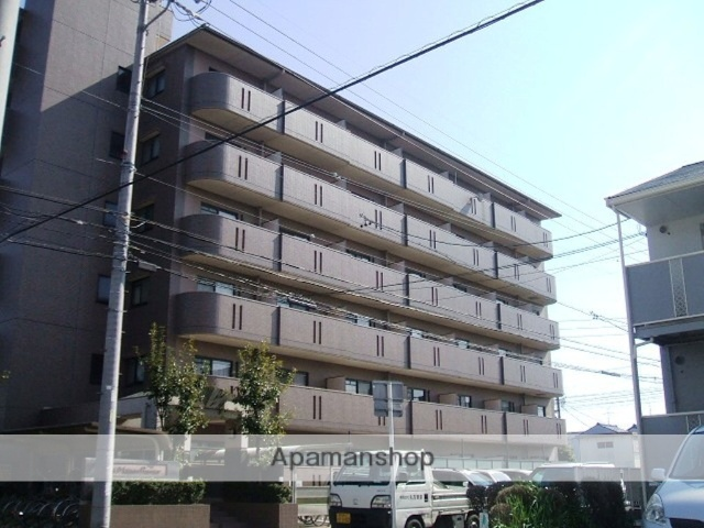 愛知県名古屋市中村区、中村公園駅徒歩13分の築17年 6階建の賃貸マンション