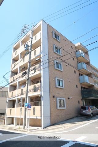 愛知県名古屋市名東区、上社駅徒歩11分の築4年 5階建の賃貸マンション