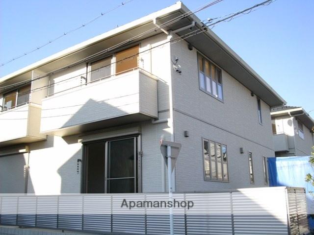 愛知県名古屋市名東区、星ヶ丘駅市営バスバス20分極楽下車後徒歩7分の築8年 2階建の賃貸テラスハウス