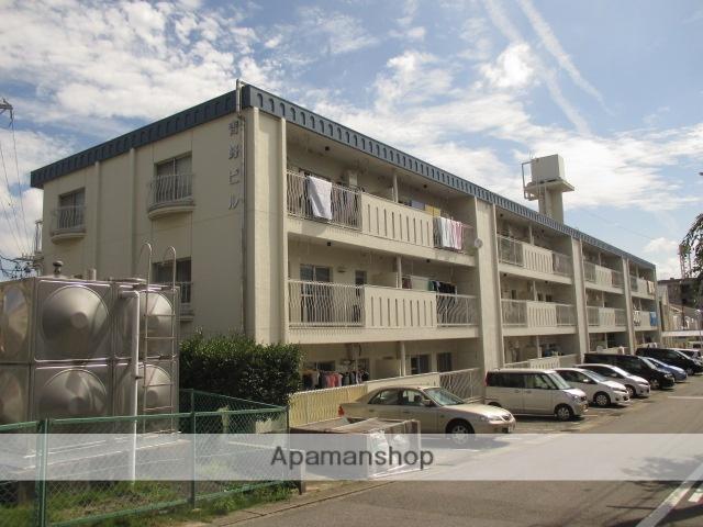 愛知県長久手市、はなみずき通駅徒歩12分の築37年 3階建の賃貸マンション
