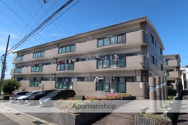 愛知県名古屋市名東区、星ヶ丘駅市バスバス10分極楽下車後徒歩5分の築20年 3階建の賃貸マンション