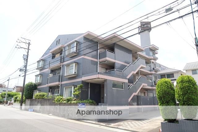 愛知県名古屋市名東区、上社駅徒歩18分の築29年 4階建の賃貸マンション