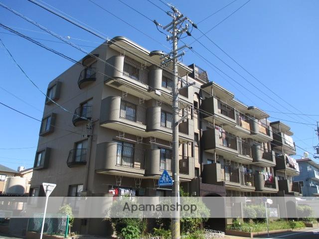 愛知県長久手市、はなみずき通駅徒歩8分の築35年 4階建の賃貸マンション
