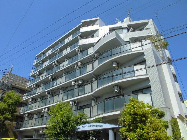 愛知県名古屋市名東区、一社駅徒歩10分の築28年 7階建の賃貸マンション
