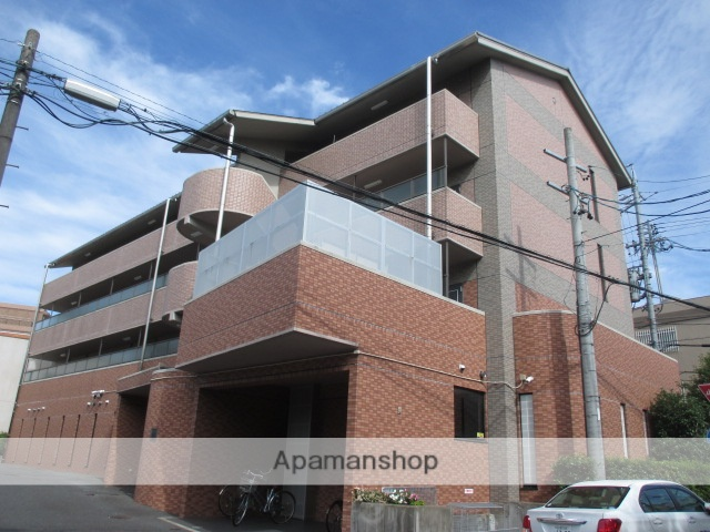 愛知県名古屋市名東区、はなみずき通駅徒歩17分の築18年 4階建の賃貸マンション