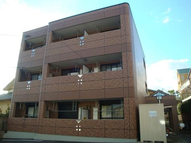 愛知県名古屋市名東区の築13年 3階建の賃貸アパート