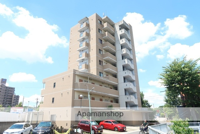 愛知県名古屋市名東区、上社駅徒歩26分の築9年 9階建の賃貸マンション