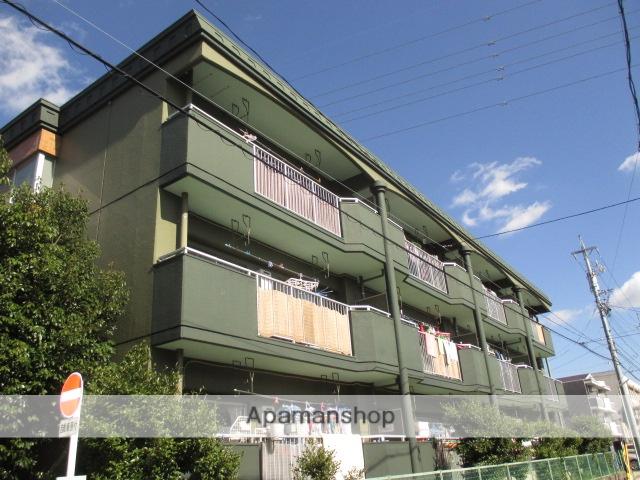 愛知県名古屋市名東区、星ヶ丘駅市バスバス10分高針下車後徒歩5分の築33年 3階建の賃貸マンション