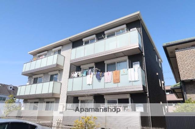 愛知県名古屋市名東区、小幡駅徒歩30分の築1年 3階建の賃貸アパート