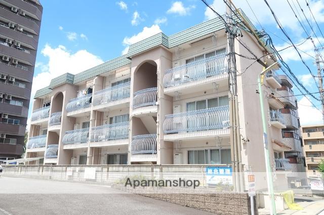 愛知県名古屋市名東区、はなみずき通駅徒歩20分の築38年 3階建の賃貸マンション