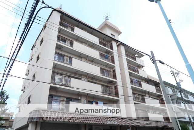 愛知県名古屋市名東区、上社駅徒歩14分の築40年 6階建の賃貸マンション