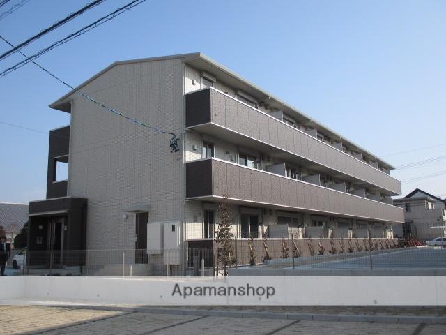 愛知県長久手市、はなみずき通駅徒歩15分の新築 3階建の賃貸アパート