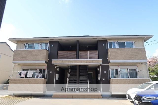 愛知県名古屋市名東区、一社駅徒歩17分の築4年 2階建の賃貸アパート