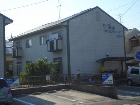 愛知県名古屋市名東区、星ヶ丘駅市バスバス17分極楽西下車後徒歩7分の築30年 2階建の賃貸アパート