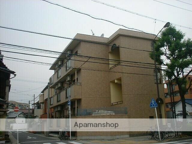 愛知県名古屋市千種区、覚王山駅徒歩14分の築30年 3階建の賃貸マンション