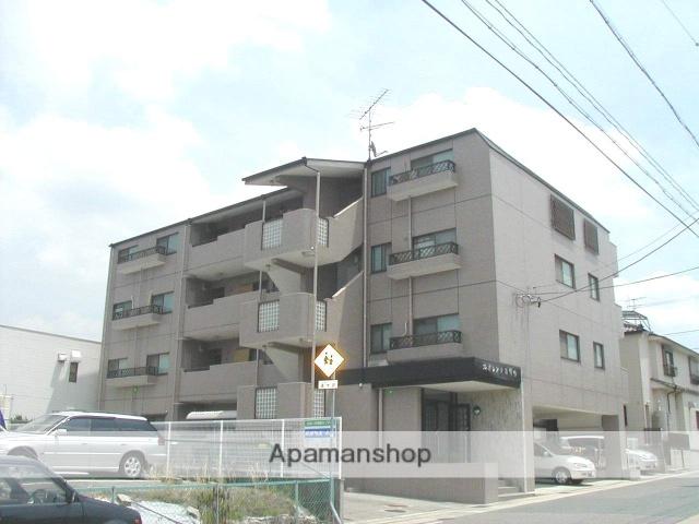 愛知県名古屋市名東区、星ヶ丘駅市バスバス9分極楽下車後徒歩5分の築25年 4階建の賃貸マンション