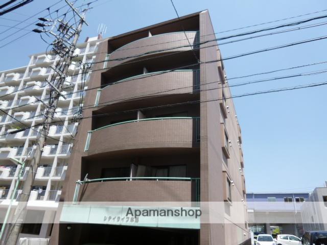 愛知県名古屋市名東区、上社駅徒歩8分の築18年 5階建の賃貸マンション