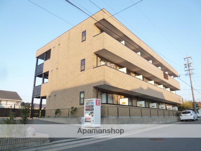 愛知県名古屋市名東区、星ヶ丘駅市バスバス14分大針下車後徒歩5分の築15年 3階建の賃貸アパート