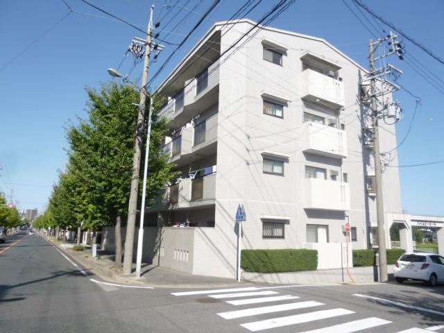愛知県名古屋市名東区、はなみずき通駅徒歩18分の築28年 4階建の賃貸マンション