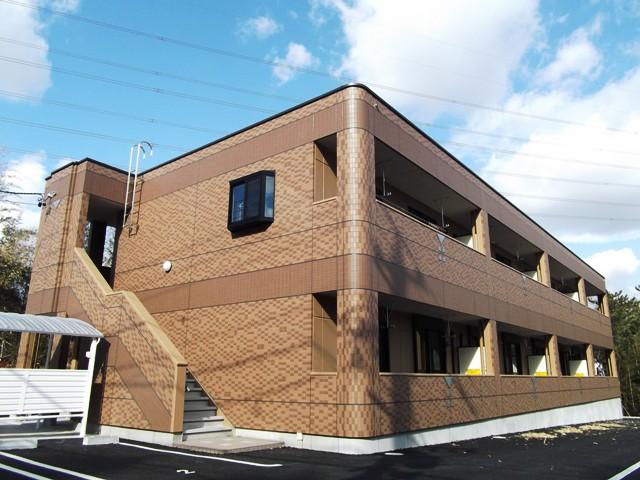 愛知県日進市、星ヶ丘駅名鉄バスバス17分門木橋下車後徒歩6分の築5年 2階建の賃貸アパート