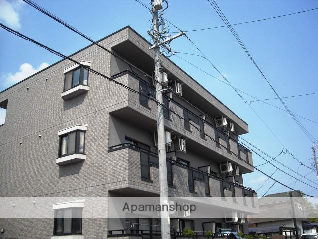 愛知県名古屋市名東区、星ヶ丘駅市バスバス14分大針下車後徒歩2分の築17年 3階建の賃貸マンション