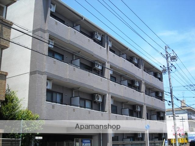 愛知県名古屋市名東区、上社駅徒歩16分の築23年 4階建の賃貸マンション