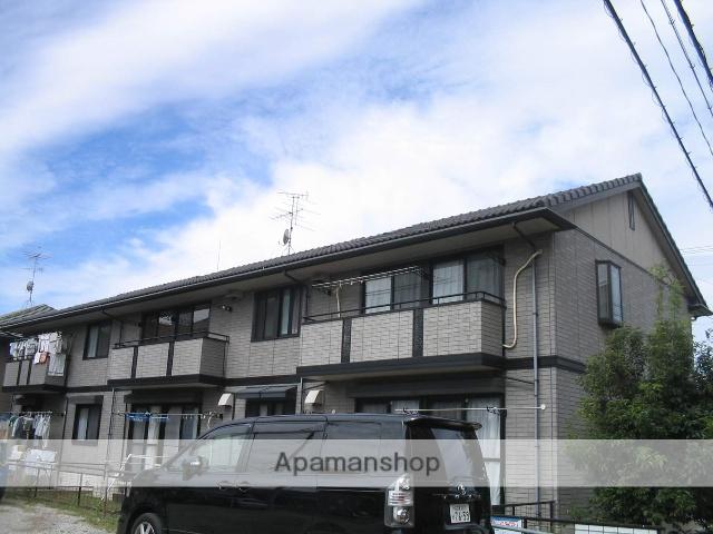 愛知県名古屋市名東区、一社駅市営バスバス15分猪子石原下車後徒歩4分の築19年 2階建の賃貸アパート