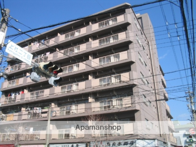 愛知県名古屋市名東区、上社駅徒歩9分の築40年 7階建の賃貸マンション