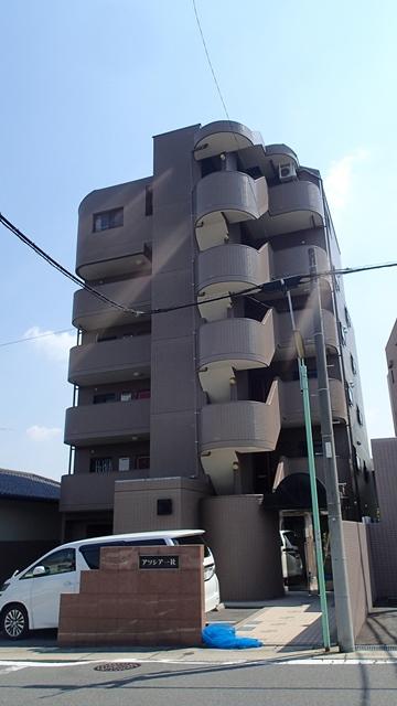 愛知県名古屋市名東区、一社駅徒歩11分の築21年 6階建の賃貸マンション