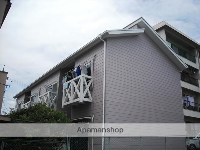 愛知県名古屋市名東区、上社駅徒歩13分の築27年 2階建の賃貸アパート