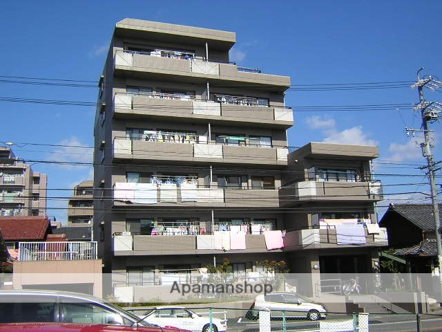 愛知県名古屋市名東区、一社駅徒歩11分の築19年 6階建の賃貸マンション