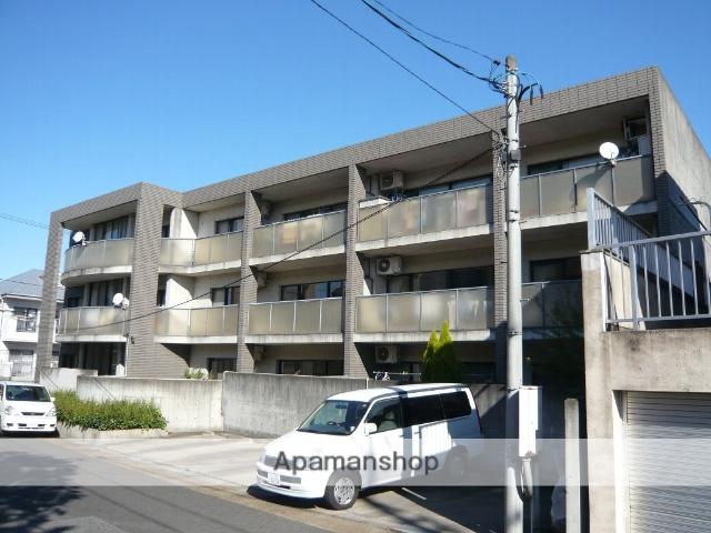 愛知県名古屋市名東区、星ヶ丘駅徒歩14分の築25年 3階建の賃貸マンション