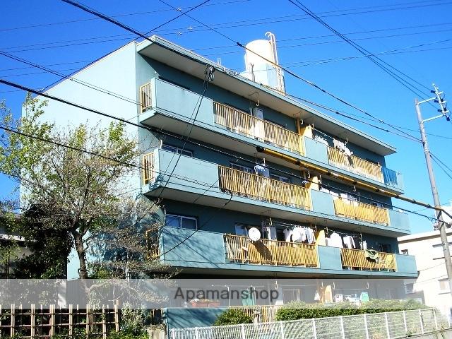 愛知県名古屋市名東区、星ヶ丘駅徒歩17分の築44年 4階建の賃貸マンション