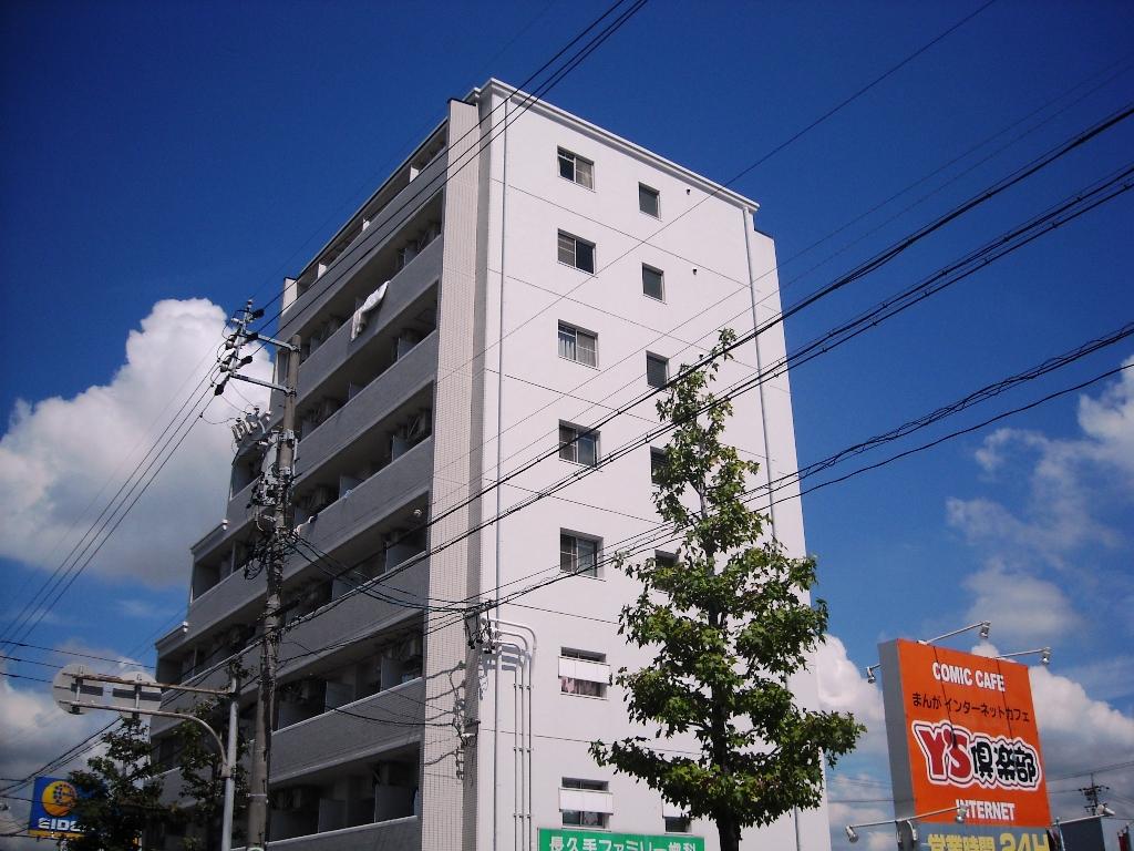 愛知県長久手市、杁ヶ池公園駅徒歩12分の築27年 8階建の賃貸マンション