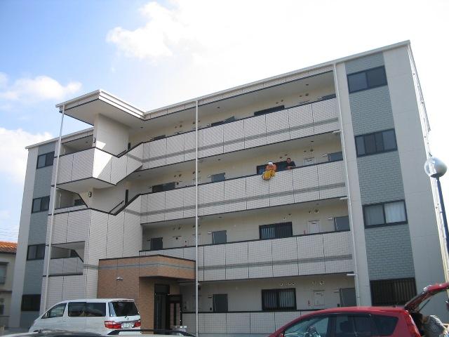 愛知県名古屋市名東区、東山公園駅市バスバス8分西山本通3下車後徒歩3分の築9年 4階建の賃貸マンション