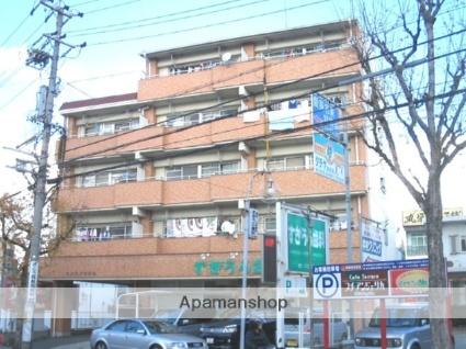 愛知県名古屋市名東区、星ヶ丘駅市バスバス9分高針下車後徒歩1分の築30年 5階建の賃貸マンション