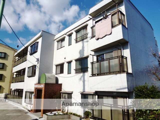 愛知県名古屋市名東区、星ヶ丘駅市バスバス3分高針下車後徒歩12分の築25年 3階建の賃貸マンション