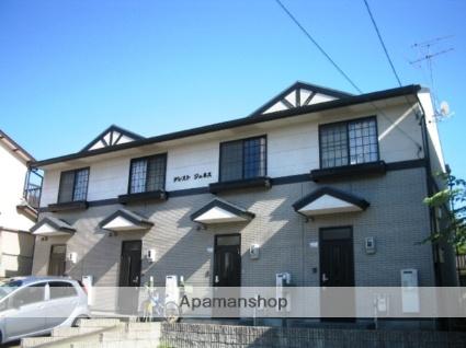 愛知県名古屋市名東区、星ヶ丘駅市バスバス11分極楽下車後徒歩6分の築20年 2階建の賃貸テラスハウス
